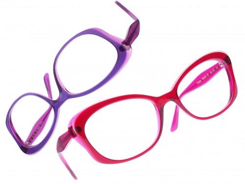 Caroline Abram colourful glasses