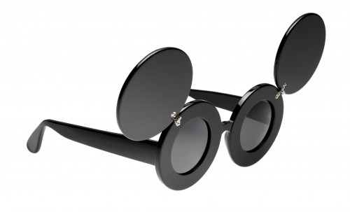 Jeremy Scott Collaboration Linda Farrow Lunettes Mickey Designer Américain The House of Eyewear Opticien Paris