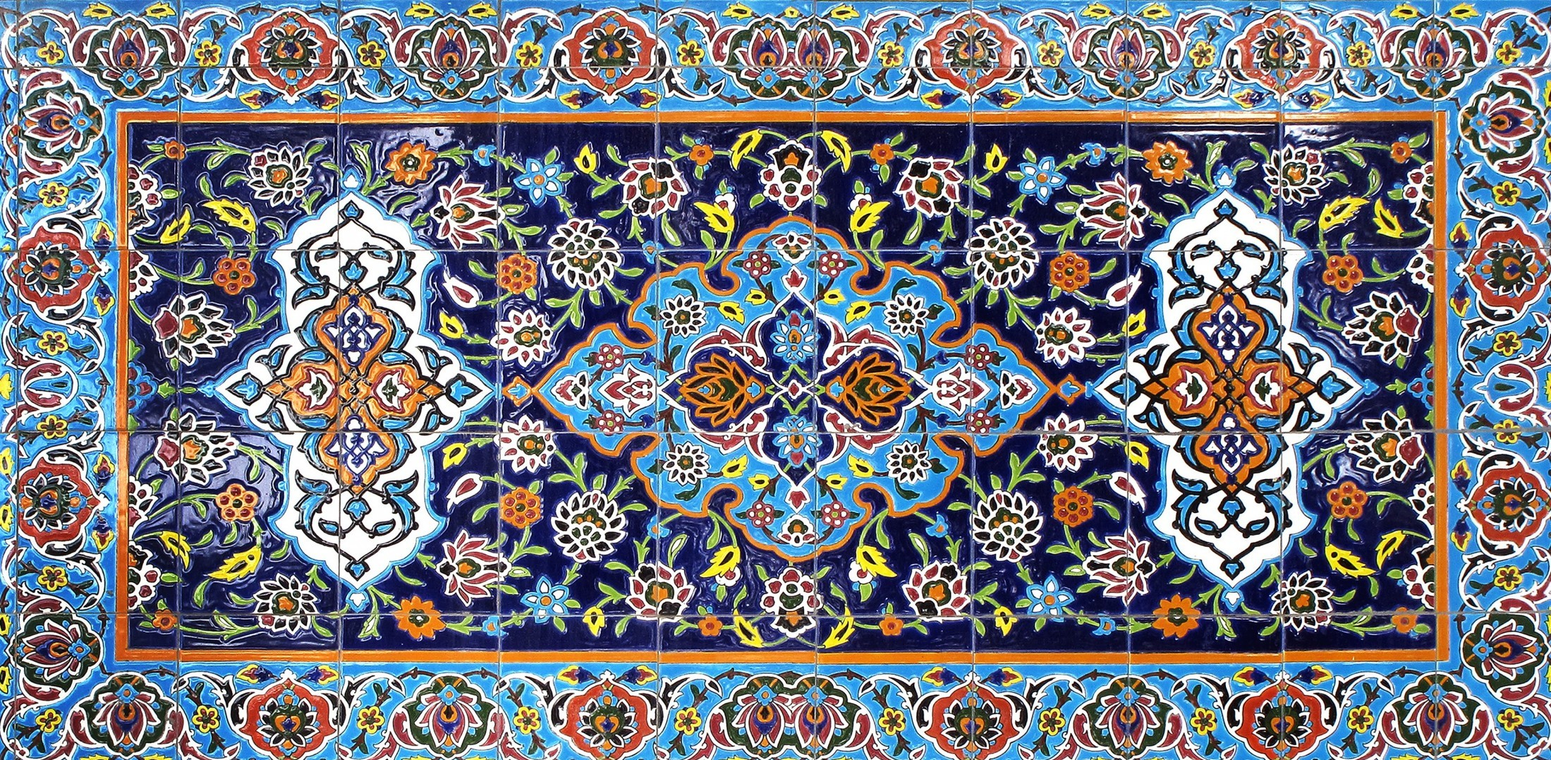 Azulejos Islamiques The House of Eyewear Optician Paris