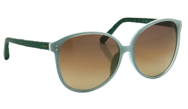 Lunettes de Soleil Linda Farrow en Serpent d'eau The house of eyewear opticien paris