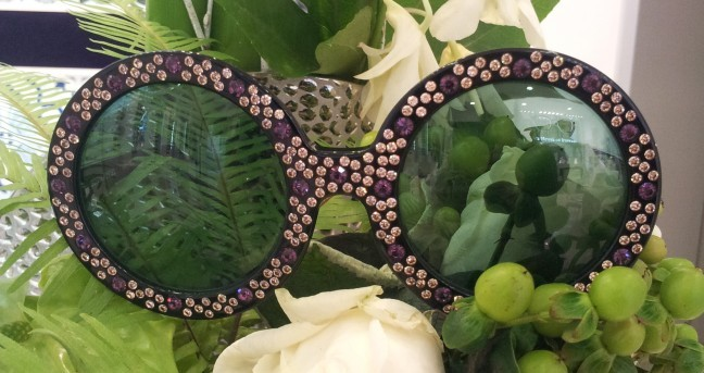 Sonia Rykiel Lunettes de Soleil Strass The House of Eyewear Opticien Paris