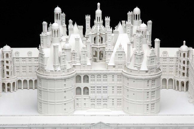3D Printed Scale Model The House of Eyewear Opticien Paris