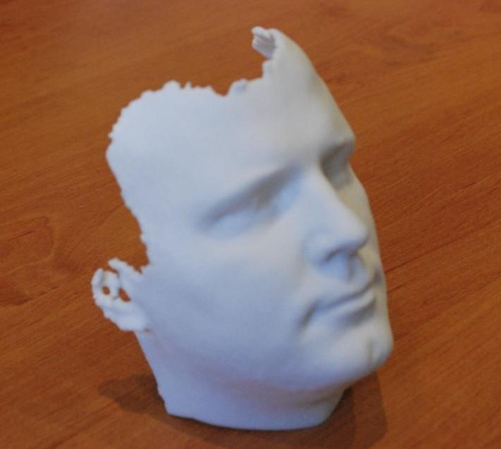 Maquette Visage Imprimante 3D The House Of Eyewear Opticien Paris