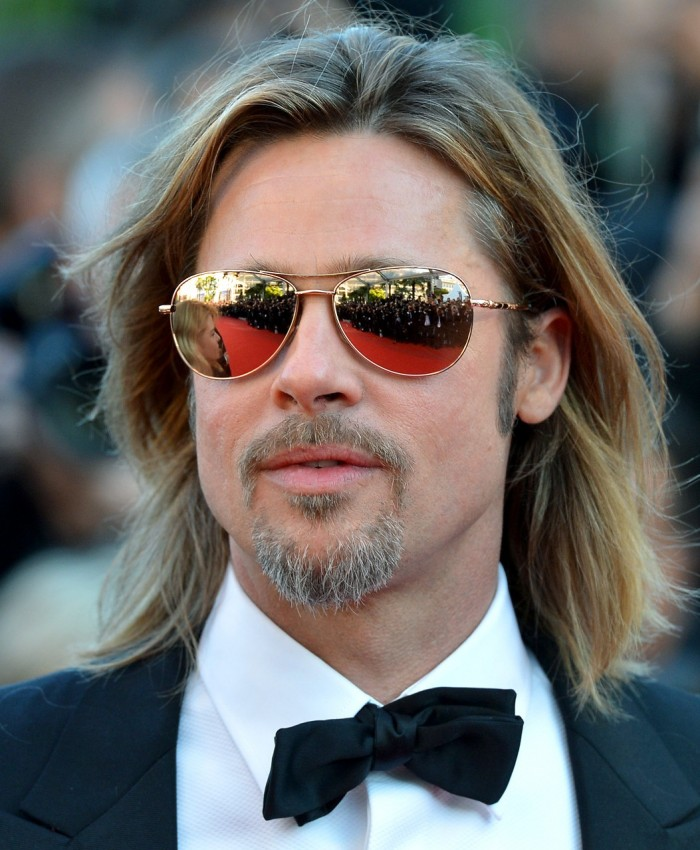 Sama Golden Sunglasses Brad Pitt Sheila Vance Loree Rodkin The House of Eyewear Optician Paris