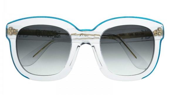 Emmanuelle Khahn Lunettes de Soleil Crystal The House of Eyewear Opticien Paris