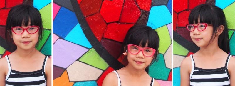 Tête à Lunettes de Vue Roses Enfants The House of Eyewear Opticien Paris