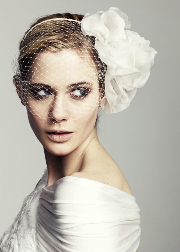 Jennifer Behr Designer New Yorkaise Accessoires de Tête Voile de Mariée Blanc Fleurs The House Of Eyewear Opticien Paris