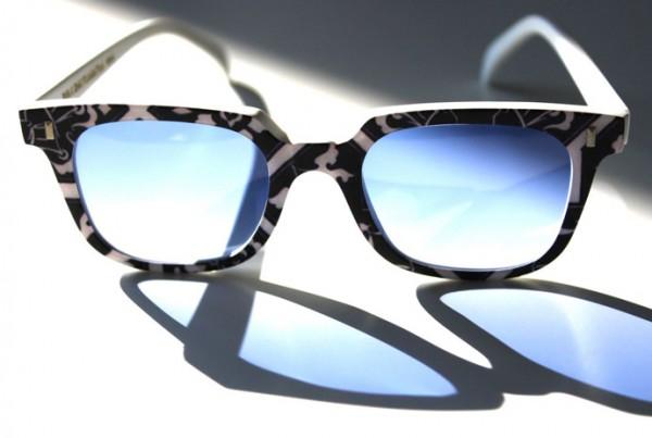 RVS By V Vidal Erkohen Turkish Brand Acetate Sunglasses Smoked Lenses The House Of Eyewear Optician Paris