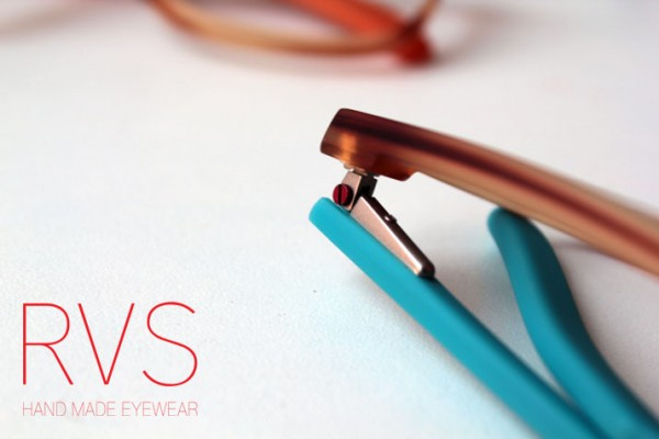 RVS By V Vidal Erkohen Turkish Brand Acetate Sunglasses Workshop red screw The House Of Eyewear Optician Paris