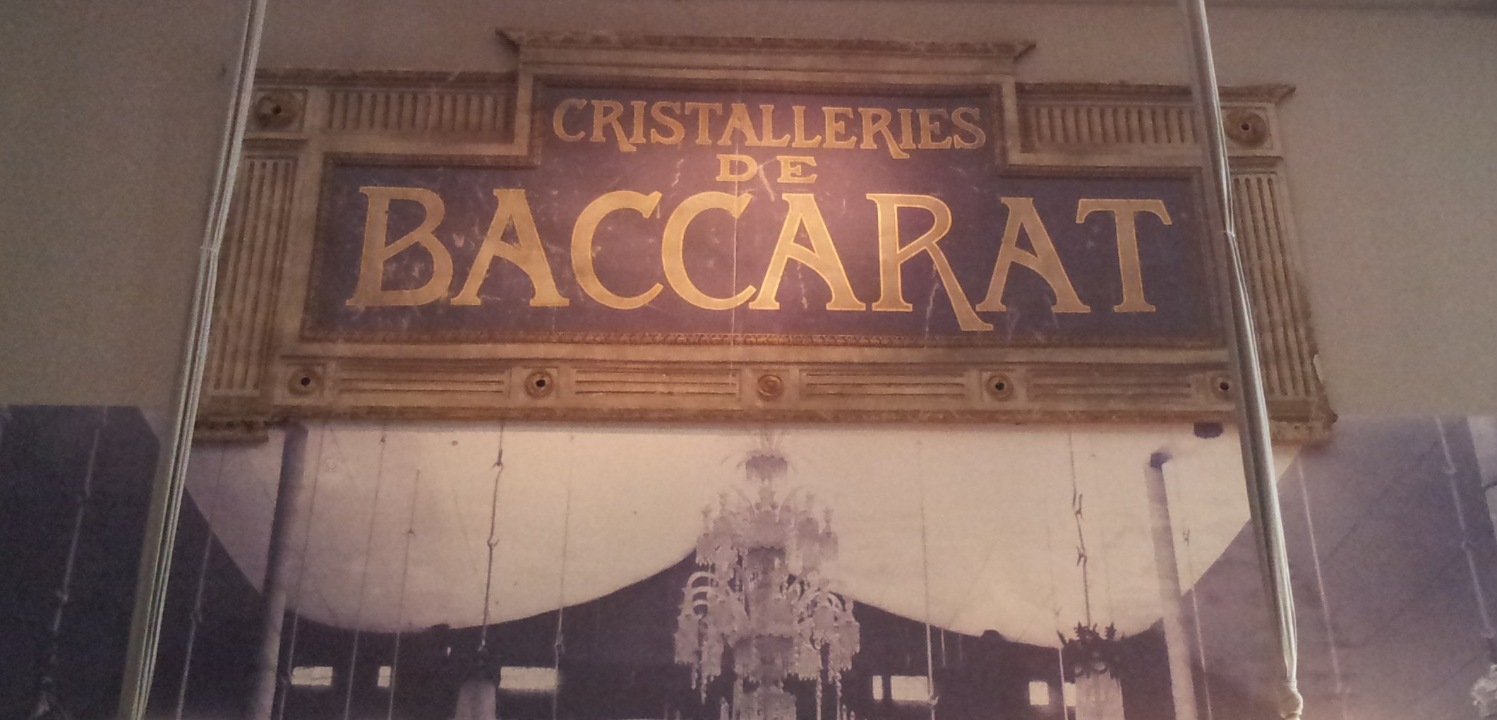 Exposition Baccarat Petit Palais Paris