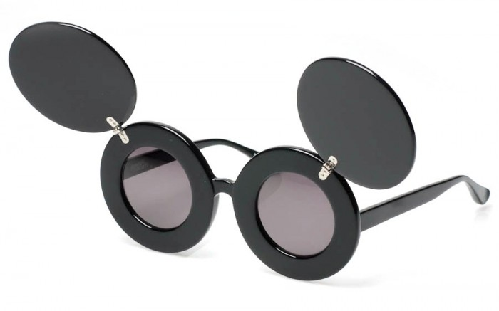 JEREMY SCOTT LINDA FARROW LUNETTES DE SOLEIL MICKEY THE HOUSE OF EYEWEAR OPTICIEN PARIS