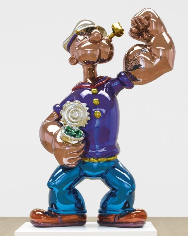 Jeff Koons Popeye PARIS