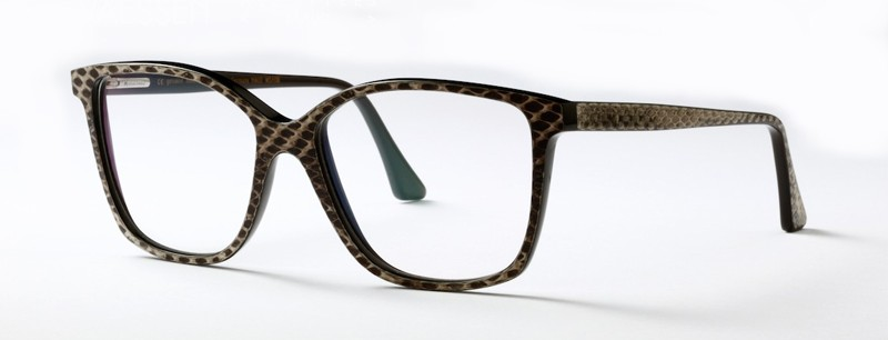 RALPH VAESSEN LUNETTES DE VUE EN CORNE PYTHON THE HOUSE OF EYEWEAR OPTICIEN PARIS