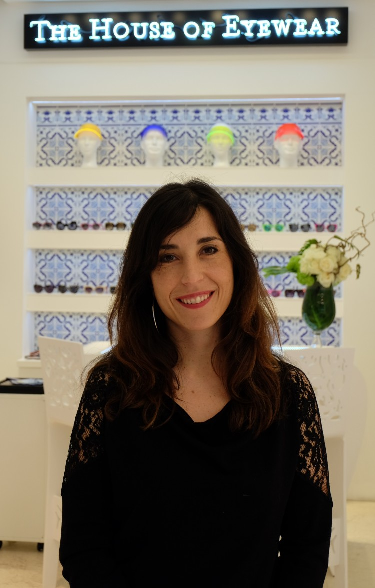SANDRINE PEREIRA OPTICIAN PARIS THE HOUSE OF EYEWEAR