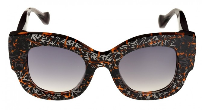 Fendi x Thierry Lasry Collection Capsule Lunettes de Soleil Femme The House of Eyewear Opticien Paris 3