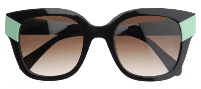 Face A Face Black Mint Sunglasses The House Of Eyewear Optician Paris