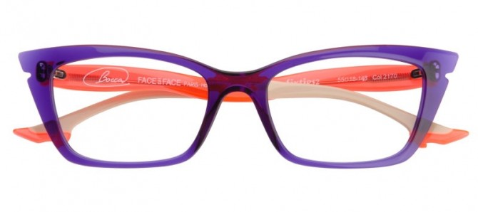 Face A Face Optical Glasses for Women Bocca Sixties The House Of Eyewear Optician Paris