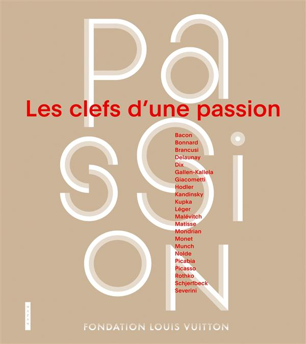 Les Clefs d'une Passion Affiche Fondation Louis Vuitton