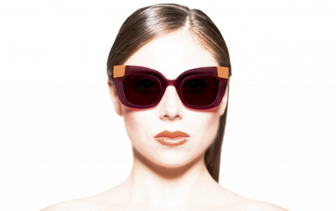 Face à Face Lunettes Solaires Femme Made in France The House Of Eyewear Opticien Paris