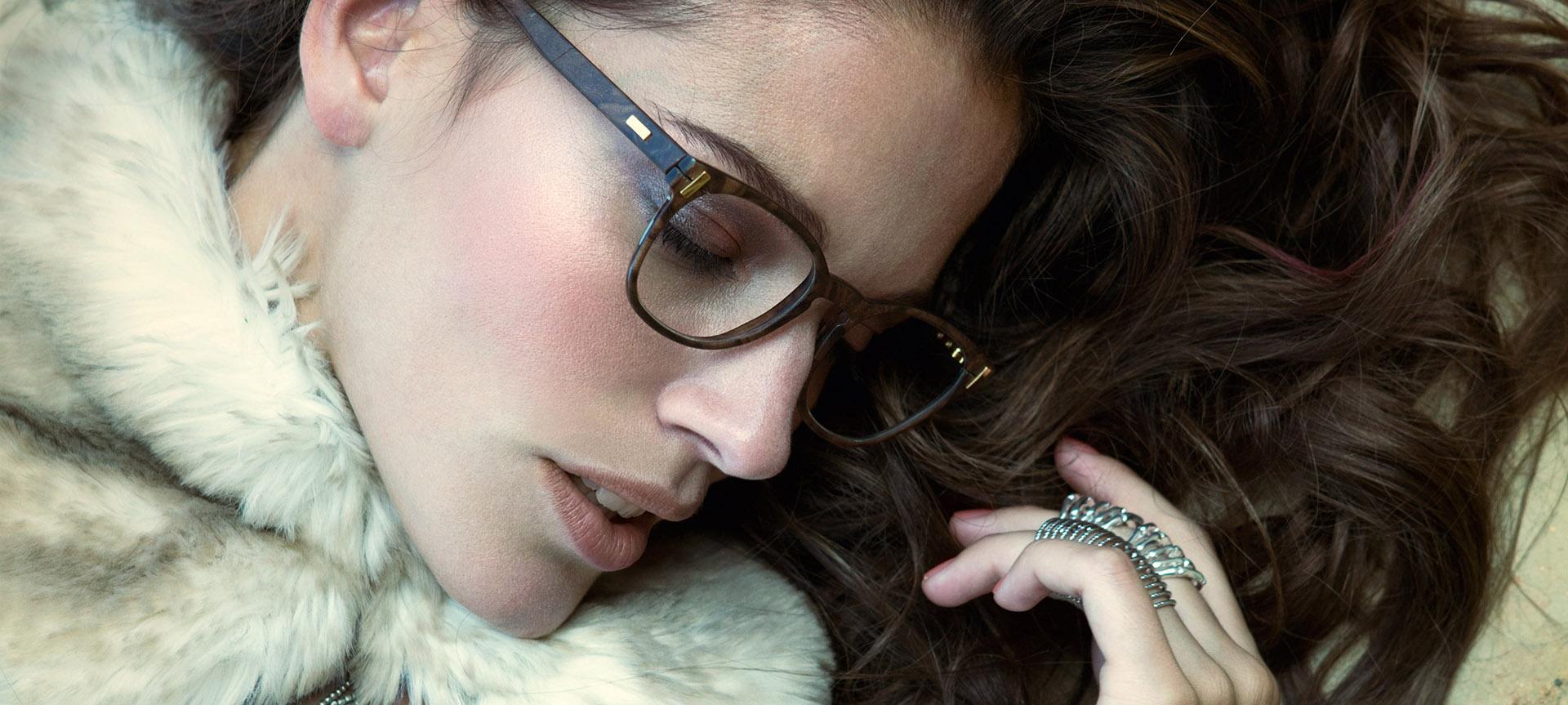 Hoffmann Natural Eyewear Hand Made Horn Glasses for Women The House of Eyewear Optician Paris