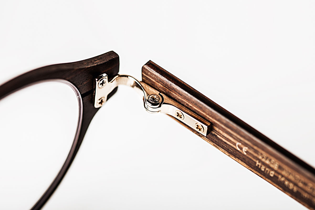 Hoffmann Natural Eyewear Wood Glasses The House of Eyewear Optician Paris