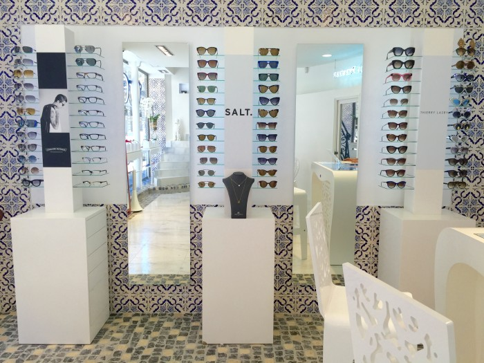 Rez de Chaussée boutique The House of Eyewear Opticien Paris