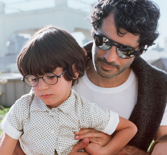 father and son Mykita glasses
