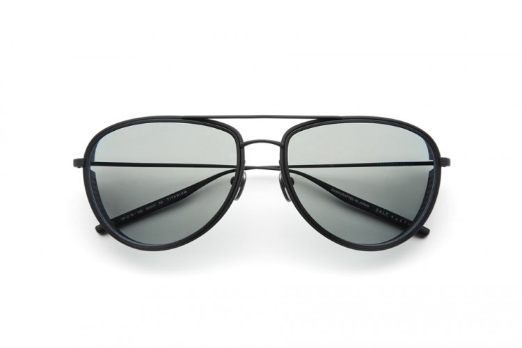 SALT. + Aether Collection Scout Black The House of Eyewear Optician Paris