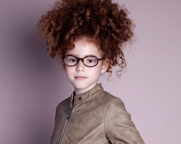 Lunettes Enfant BBIG Fille Boucles The House of Eyewear Paris