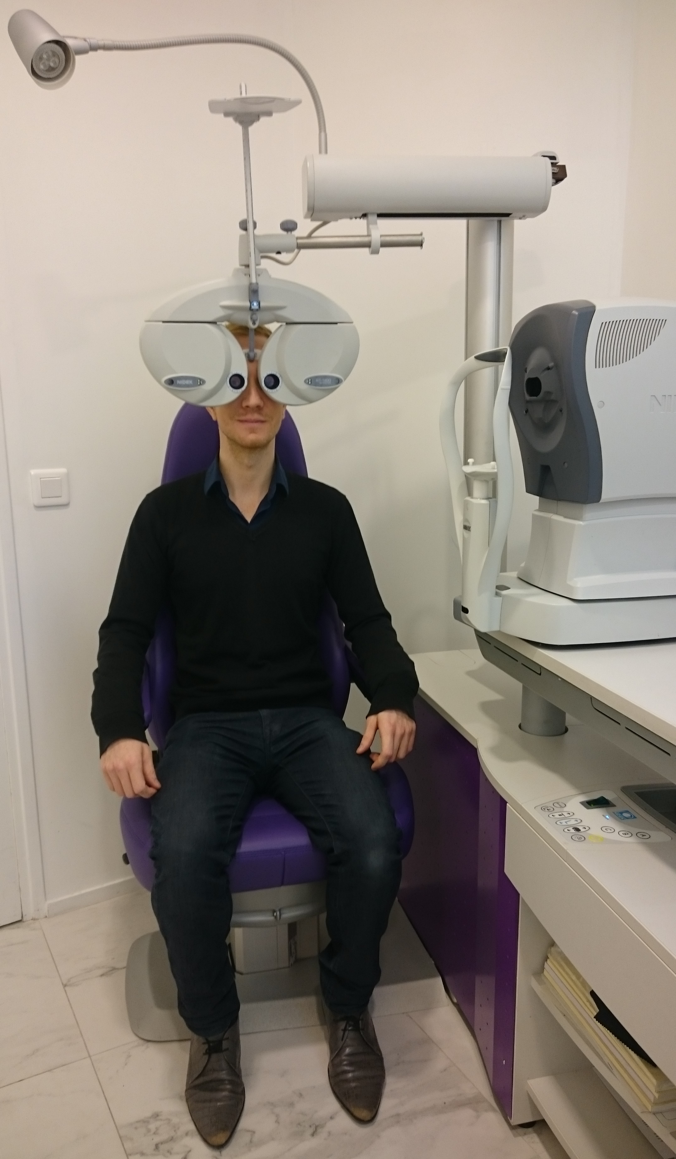 Examen de vue chez The House of Eyewear Opticien Paris