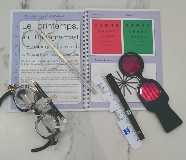 Matériel Examen de vue chez The House of Eyewear Opticien Paris