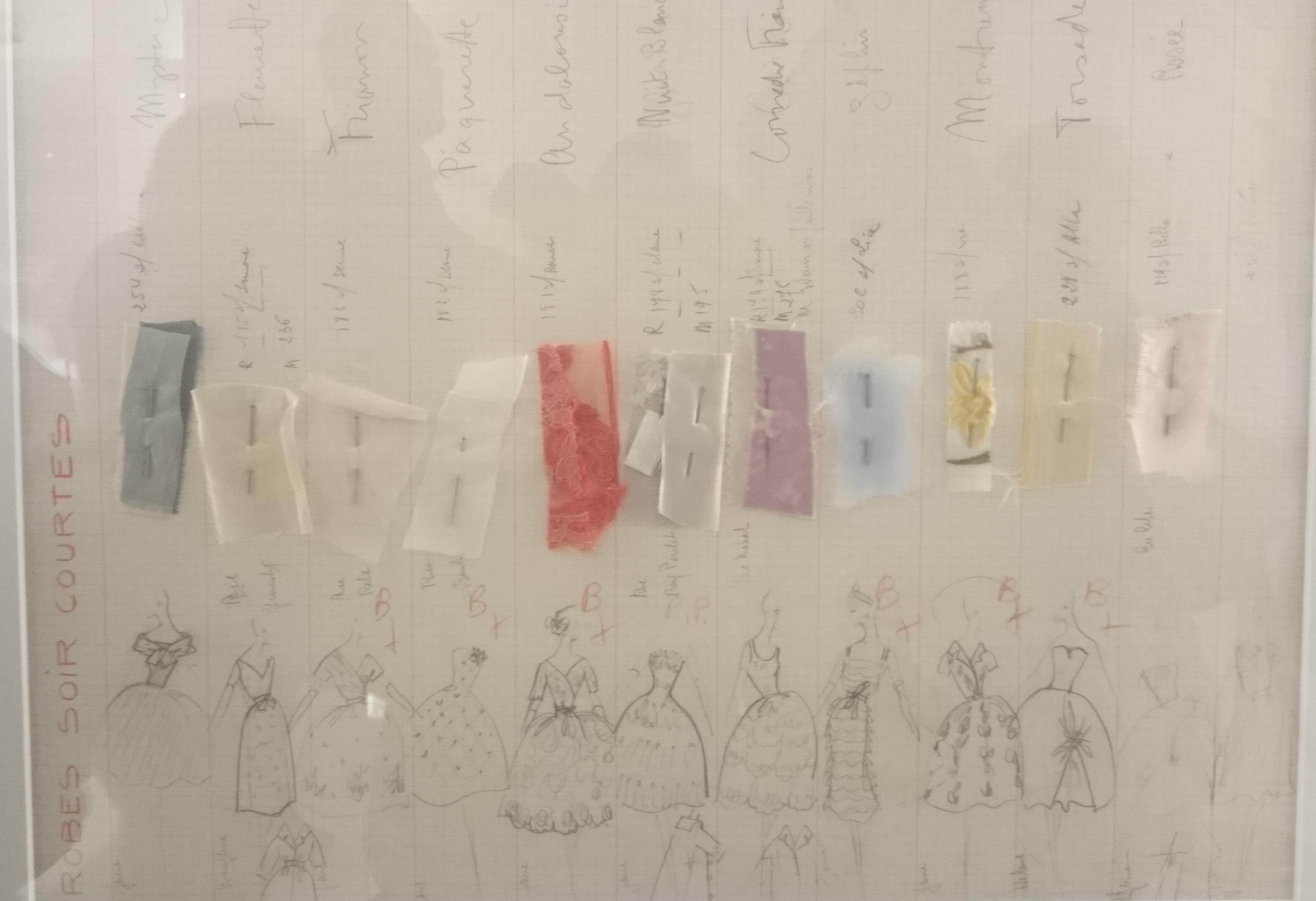 musée-arts-décoratifs-paris-christian-dior-croquis-robe-du-soir