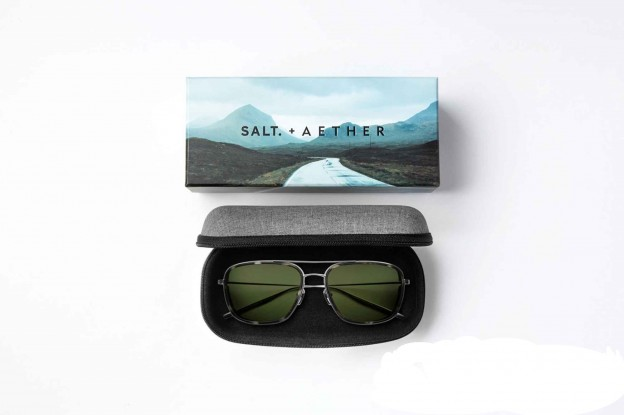 SALT. + Aether Collection Etuis The House of Eyewear Opticien Paris
